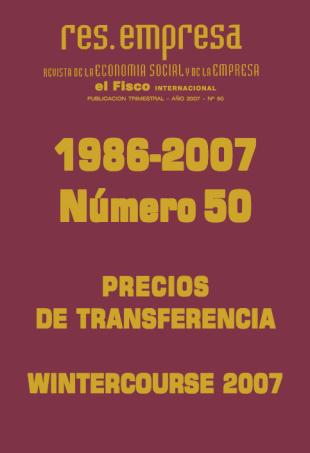 Revista de la economía social y de la empresa nº50